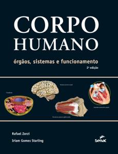 Corpo humano: órgãos, sistemas e funcionamento Book Cover