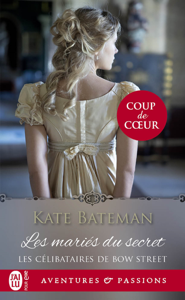 Les célibataires de Bow Street (Tome 1) - Les mariés du secret Book Cover