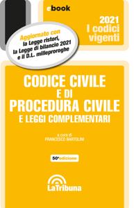 Codice civile e di procedura civile e leggi complementari Libro Cover