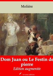 Dom Juan ou Le Festin de pierre – suivi d'annexes La couverture du livre martien