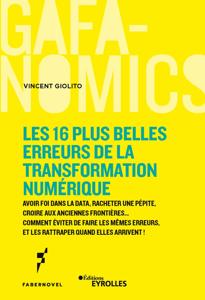 Les 16 plus belles erreurs de la transformation numérique Couverture de livre