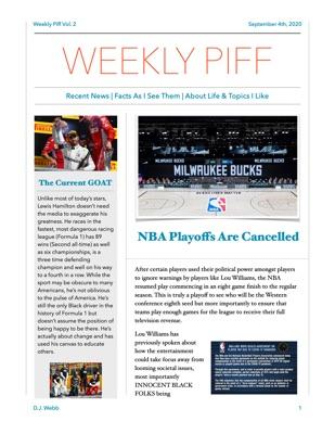 Weekly Piff Vol. 2