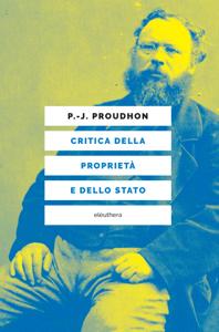 Critica della proprietà e dello stato Copertina del libro