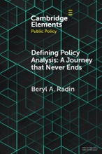 Defining Policy Analysis: A Journey That Never Ends