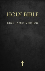 The Holy Bible : King James Version (KJV), includes: Bible Reference Guide, Daily Memory Verse,Gospel Sharing Guide : (For Kindle) Book Cover