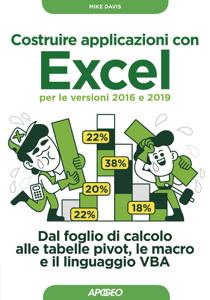 Costruire applicazioni con Excel - per le versioni 2016 e 2019 Copertina del libro