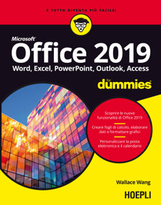 Office 2019 for dummies Libro Cover