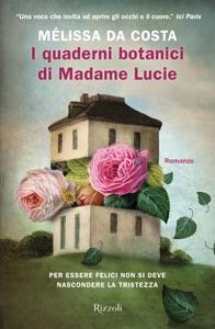 I quaderni botanici di Madame Lucie di Melissa Da Costa Copertina del libro