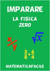 Imparare la fisica zero Libro Cover