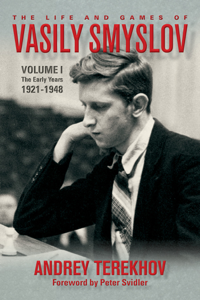 The Life & Games of Vasily Smyslov Copertina del libro