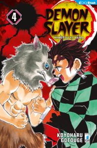 Demon Slayer - Kimetsu no yaiba 4 Libro Cover