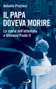 Il Papa doveva morire di Antonio Preziosi Copertina del libro