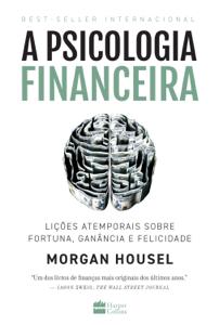 A psicologia financeira Capa de livro