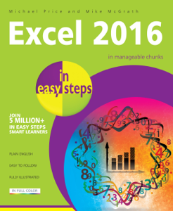 Excel 2016 in easy steps La couverture du livre martien