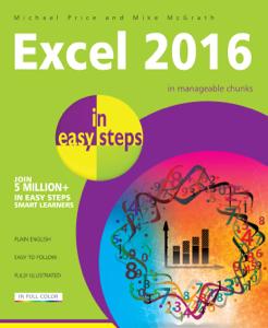 Excel 2016 in easy steps La couverture du livre martien