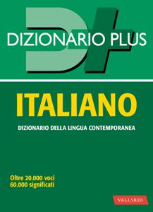 Dizionario italiano plus Copertina del libro