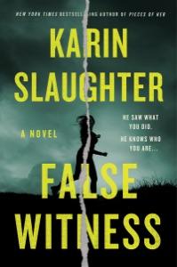 False Witness Book Cover