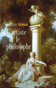 L'artiste et le philosophe La couverture du livre martien