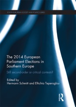 Still Second Order Or Critical Contests? The 2014 European Parliament Elections In Southern Europe
