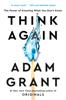 Adam Grant - Think Again artwork