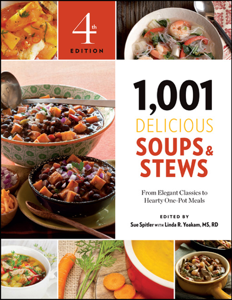 1,001 Delicious Soups & Stews Book Cover