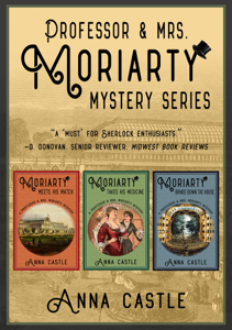 The Professor & Mrs. Moriarty Mysteries: Books 1-3 Book Cover