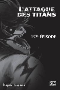 L'Attaque des Titans Chapitre 137 Couverture de livre