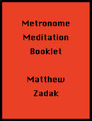 Metronome Meditation Booklet