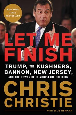 Let Me Finish - Chris Christie book