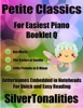 Petite Classics For Easiest Piano Booklet Q– Ave Maria The Barber Of Seville Little Prelude In D Minor Letter Names Embedded In Noteheads For Quick And Easy Reading
