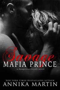 Savage Mafia Prince Book Cover