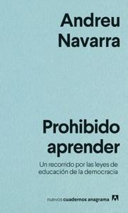 Prohibido aprender Book Cover