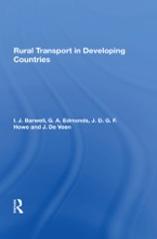 Rural Transport In Developing Countries