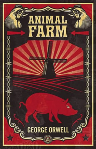 Animal Farm La couverture du livre martien