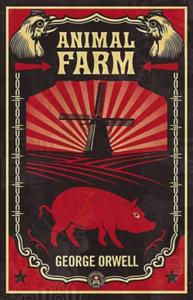Animal Farm La couverture du livre martien