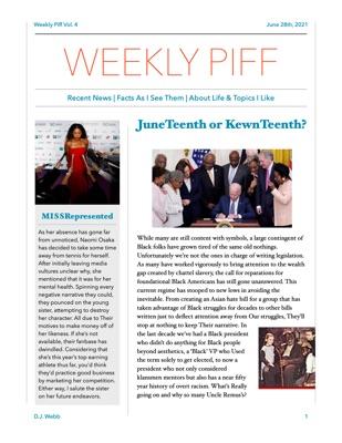 Weekly Piff Volume 4