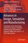 Advances In Design Simulation And Manufacturing