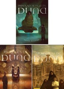 Duna Primeira Trilogia 3 livro II: O Imperador Deus de Duna, Os Hereges de Duna, As Herdeiras De Duna.