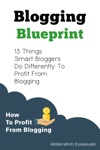 Blogging Blueprint 13 Things Successful Bloggers Do Differently To Profit From Blogging