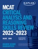 MCAT Critical Analysis And Reasoning Skills Review 2022-2023