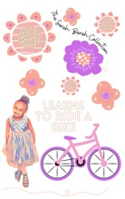 Sarah Barah Learns To Ride A Bike