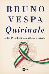 QUIRINALE da Bruno Vespa Copertina del libro