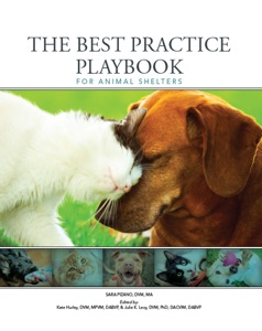 The Best Practice Playbook for Animal Shelters Book Cover