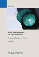 Robert Daubner - Fälle und Lösungen im Verkehrsrecht artwork