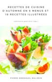 Recettes de cuisine d'automne en 6 menus et 18 recettes illustrées