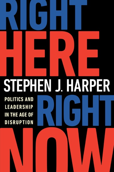 Right Here, Right Now - Stephen J. Harper book cover