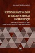 Responsabilidade solidária do tomador de serviços na terceirização Book Cover