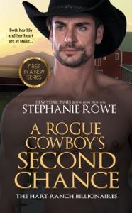 A Rogue Cowboy's Second Chance (Hart Ranch Billionaires #1)