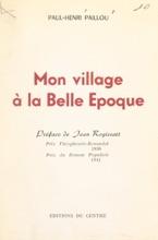 Mon Village à La Belle Époque