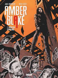 Amber Blake - Tome 02 La couverture du livre martien